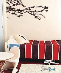 Vinyl Wall Decal Sticker Corner Tree Floral Branches 391 Stickerbrand
