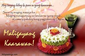 happy birthday in tagalog greetings com