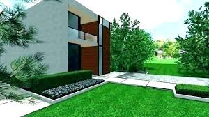 modern front yard landscape design