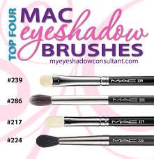 top 4 mac eyeshadow brushes er