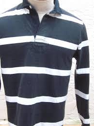 vintage ralph lauren striped rugby men