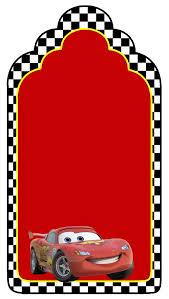 Tag De Agradecimento Jpg 668 1181 Disney Cars Cumpleanos De