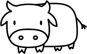 Amazon Com Cute Cartoon Moo Cow Black Vinyl Decal For 13 Macbook Computers Accessories