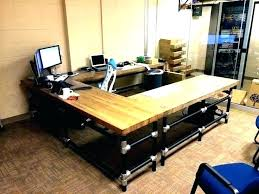 ikea butcher block desk butcher block