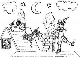 Zwarte Piet Kleurplaat Beeld Klascement