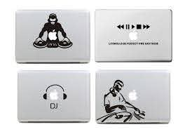 Laptop Sticker Dj And Music Collection Vinyl Decal For Apple Macbook Pro Air 13 15 Inch Color For Macbook Laptop Skin Decal Paper For Ceramics Sticker Filmsticker Business Aliexpress