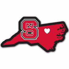 North Carolina State Wolfpack Home State Auto Car Window Vinyl Decal Sticker For Sale Online