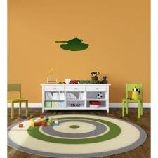 Vinyl Wall Decal Sticker Green Soldier Car Armored Tank Machine War Equipment Bedroom Bathroom Living Room