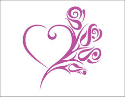 Amazon Com Kiskistonite Tribal Heart Decal Beautiful Rose Laptop Decal Vinyl Decal Laptop Sticker Girly Tumbler Tumbler Decal Unique Heart And Rose Thorns Decal For Wall Bedroom Macbook 15 Inches Home Kitchen