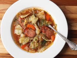 cabbage soup kapusniak recipe
