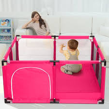 Portable Baby Playpen Play Yard Interactive Baby Playinghouse Safety Activity Play Fence For Infants And Babies Extra Large Playard Indoor And Outdoor Anti Fall Playpen Walmart Com Walmart Com
