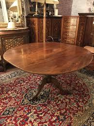 dining table regency mahogany round