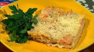 Homemade Seafood Lasagna ...