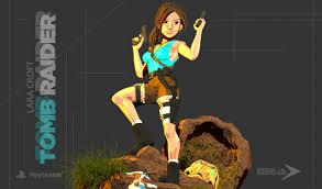 Artstation Lara Croft The Tomb Raider Adrian Oliver T
