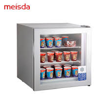 55l deep mini bar fridge display ice