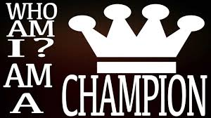 I AM A CHAMPION Speech - YouTube