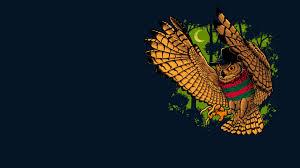 owl bird freddy krueger wallpaper hd