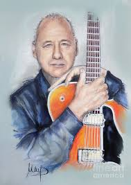 Mark Knopfler Painting by Melanie D