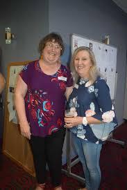 Gayleen Trickett (nee Schurmann) and Ivy Butler (nee Diggins) at ...   Buy  Photos Online   Northern Star