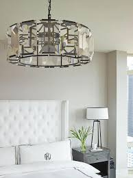 crystal chandelier for bedroom chic