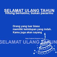 ucapan dan pantun selamat hari ulang tahun untuk anak tercinta