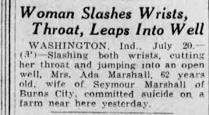 Ada Marshall death... - Newspapers.com