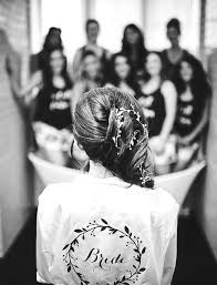 bridal party hair makeup who pays