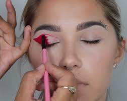 funky eyes makeup video tutorial
