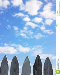 Wooden Fence Posts Stock Photo Image Of Fencing Fence 12590268