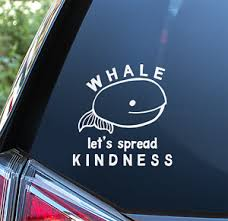 Whale Sticker For Car Window Bumper Or Laptop Kindness Boho Love Nautical Ebay