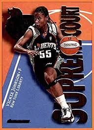 2000 SkyBox Dominion WNBA Supreme Court #SC8 Vickie Johnson NEW ...