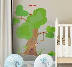 Tree House Tree Wall Sticker Tenstickers