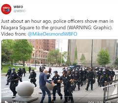 Buffalo police shoving elderly man ...