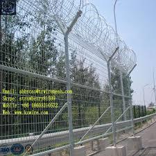 Galvanized Razor Barbed Wire Fence With Y Shape Fence Post Wire Fence Cost Fencing Wordswired Trackball Aliexpress