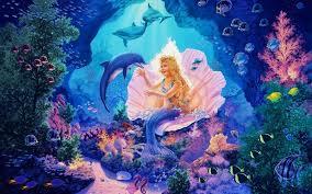 little mermaid princess wallpapers