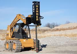 Danuser Sm40 Hammer Post Driver Grapple Tilt Weight Kit Skid Steer Attachment Skid Steer Attachment Depot