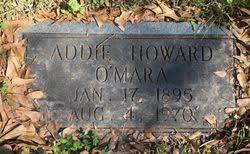 Addie Howard O'Mara (1895-1970) - Find A Grave Memorial