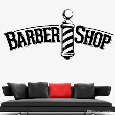 Barber Shop Vinyl Window Decal Pole Sign Hair Dressers Wall Sticker Modern Home Decoration Living Room Decor Accessories Girl Wall Stickers Girls Bedroom Wall Stickers From Joystickers 12 57 Dhgate Com