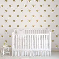 Heart Wall Decals Girl Nursery Wall Decal Db402 Designedbeginnings