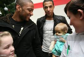 JB and Marvin Humes of JLS meet Abigail Jackson on the Rays of ...