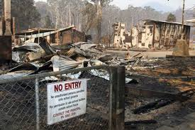 The Marysville Primary School Lies In Ruins After The Bushfires That Destroyed The Town Abc News Australian Broadcasting Corporation