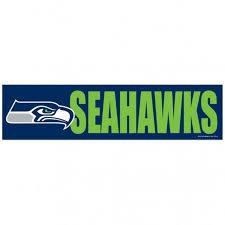 Seattle Seahawks Decal Bumper Sticker Sports Fan Shop