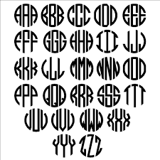 Lowest Prices On Monogram Letters Hummingbird Border Car Stickers