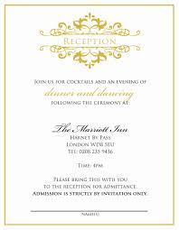 indian wedding reception invitation