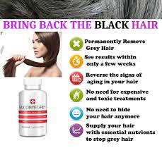 grey hair forever