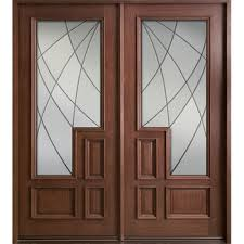 french front fiberglass entry wood