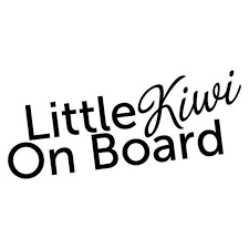 Little Kiwi On Board Sticker New Zealand Kiwi Nz Maori Funny Etsy