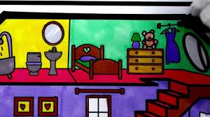 Dạy bé tập vẽ ngôi nhà xinh xắn của bé nào ...