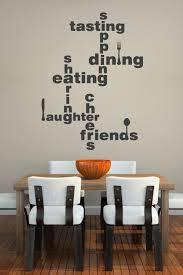 Dining Lingo Wall Decal Lettering Walltat