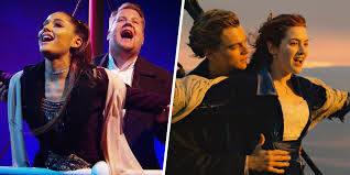 Ariana Grande and James Corden belt out ...